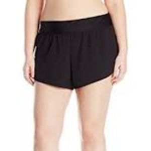 Costa Sol Shorts - Nwt Costa Sol Black Tactel Board Shorts Swim 1X